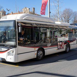 Nouveaux bus à Draguignan