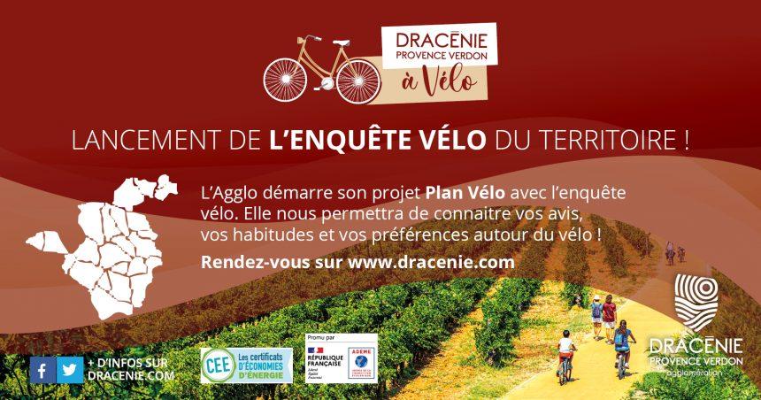 Participez à l'enquête vélo du territoire !